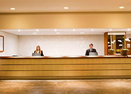 Recepção - Sorocaba Park Hotel